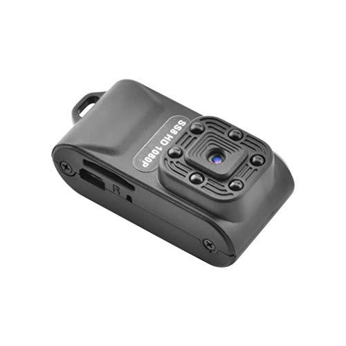 fang FANS HD 1080P Tragbare WiFi IP Mini Kamera SS8 Nachtsichtkamera Cam Home Camera hochauflösende Camcorder tragbare DV Monitor Bewegungsalarm Kamera Videokamera (Black)