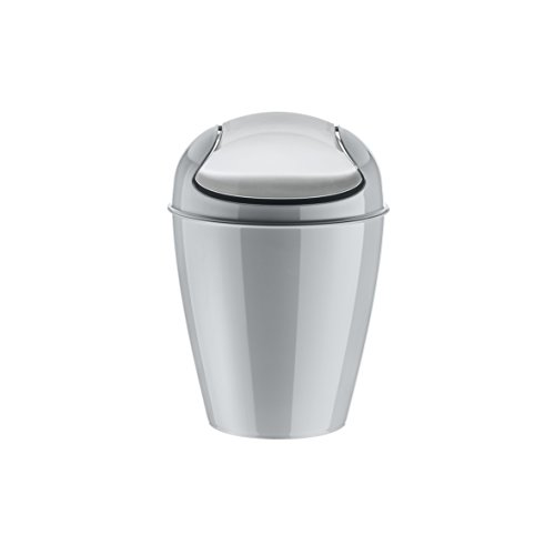 koziol-del-xs-cubo-de-basura-papelera-bidon-de-basura-basurero-cubo-con-tapadera-plastico-gris-2-l-5