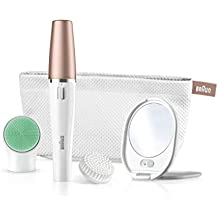 Braun FaceSpa 851 V 3-in-1 Facial Epilator/ Epilation For Hair Removal And Cleansing Brush