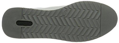 Remonte R7000, Scarpe da Ginnastica Basse Donna Bianco (Silber/argento/weiss/weiss / 81)