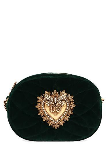 Dolce E Gabbana Borsa A Spalla Donna Bb6704aa09087399 Cotone Verde