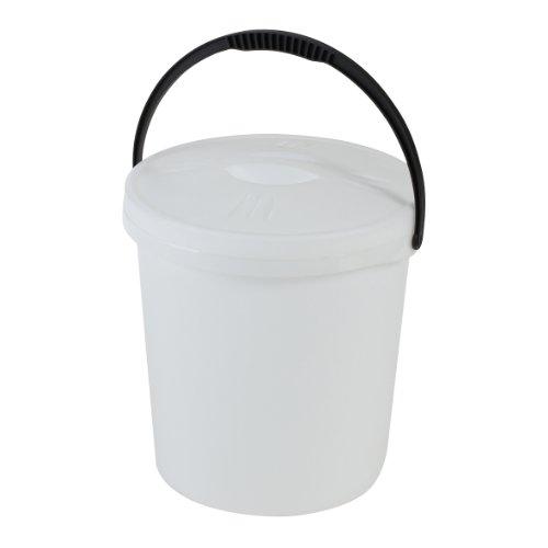 Axentia 235933 Eimer 16 L Deckel und Kunststoffbügel