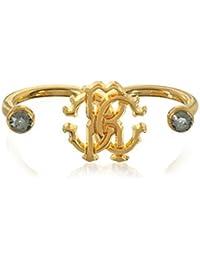 Roberto Cavalli Women's GQG828AM008D0615 Gold Metal Ring