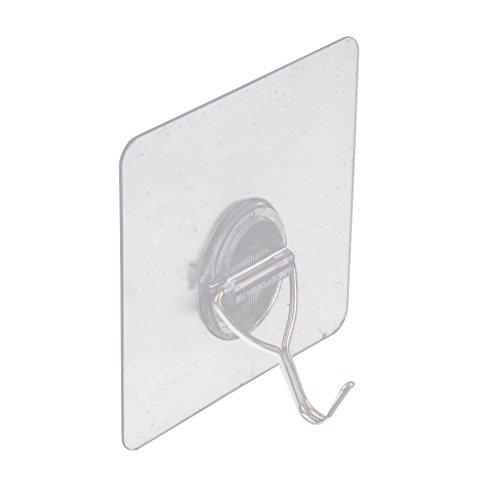Baoblaze Kleber Wandhaken Wandhalterung für Schlüssel/Handtuch/Gürtel/Schal/Halskette (Leder-gürtel Kleiderbügel)
