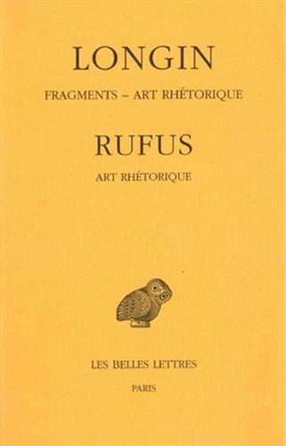 Fragments. Art rhétorique par Rufus