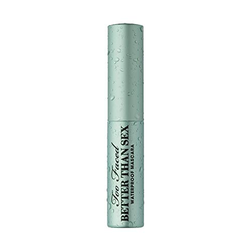Too Faced Better Than Sex Mascara Waterproof Mini Travel Size .17 ounce blue tube