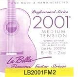 La Bella Flamenco Tirant Moyen Cordes 2nd