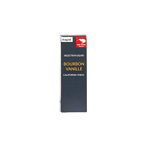 red kiwi Selection Liquid Bourbon Vanille mit California Tabak, 10 ml