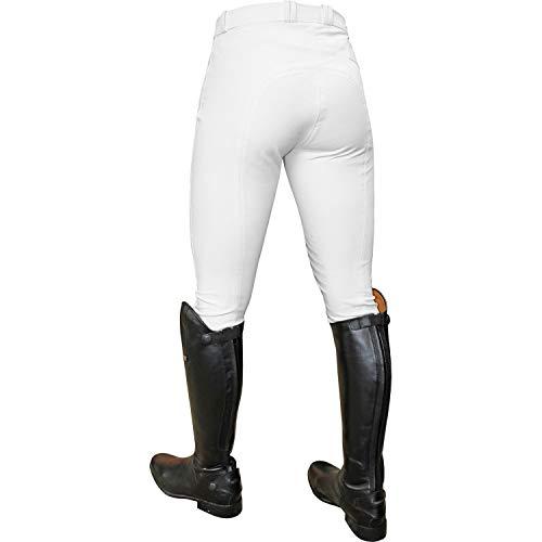 Donna Shires SaddleHugger Pantaloni JODHPURS da donna-Nero Tutte le Taglie