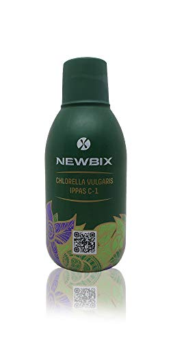 Newbix® - 100% natürliches Chlorella - ohne Zusatzstoffe - Flüssig - hoher Wirkungsgrad - Laborgeprüft - (1000ml)
