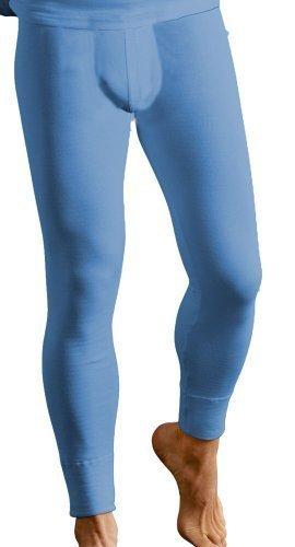 Classic Couche De Base Hommes Thermique Chaude Caleçon Long Sous-vêtement Vêtements De Ski - Cotton, Bleu, classic 50% coton 50% polyester 50% coton 5