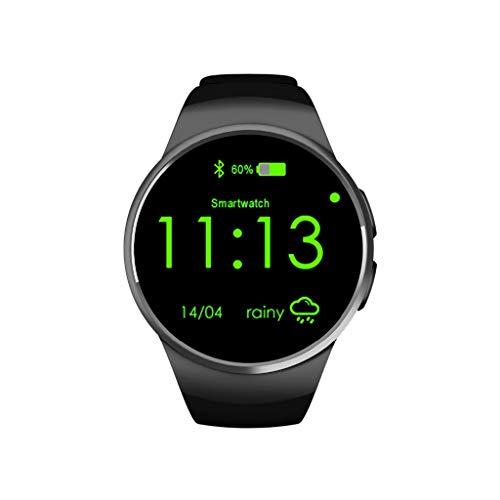 YUYLE Smartwatches Für Samsung Galaxy s10 Bluetooth smart Watch unterstützung pulsmesser smartwatch für Apple Huawei Android ios Watch, Gold