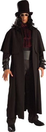 Gothic Halloween Vampir Kostüme (Herren Kostüm Vampir Lord Gothic Halloween Karneval Fasching Größe 48 bis)