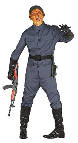 Fiestas Guirca Soldat Kostüm 2 Weltkrieg Zombie für Horror-Verkleidung