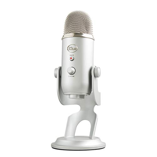 Blue Microphones Yeti USB Mikrofon, Silber