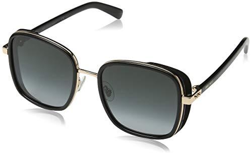 Jimmy Choo Damen ELVA/S 9O 2M2 54 Sonnenbrille, Schwarz (Black Gold/Brown),