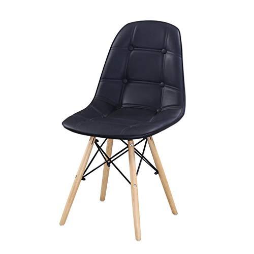 assivholz Zuhause Stuhl Sofa-Stuhl Rückenlehne Freizeithocker Küchenhocker Wohnzimmer Restaurant ()