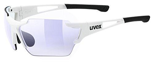Uvex Erwachsene Sportstyle 803 race vm Sportbrille, White, One Size