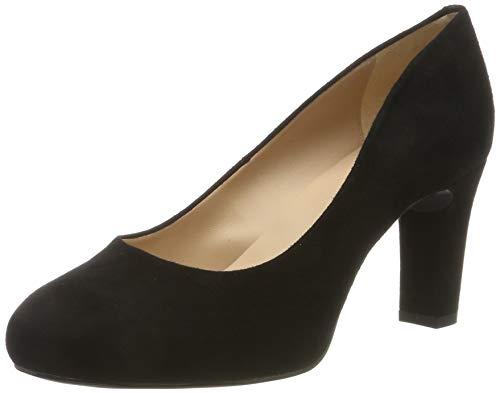 Unisa Numis_Classic_f19_KS, Zapatos de Tacón para Mujer, Negro Black Black, 38 EU