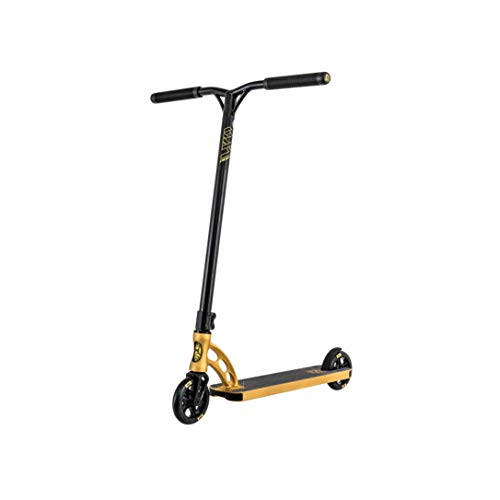 MGP VX9 Team Freestyle Stunt Scooter Roller Kickscooter Tretroller Stuntscooter (Gold)