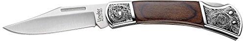 Linder Couteau Pliant Longueur de la Lame : 8,3, Longueur Totale cm : 18,7, Multicolore, 18,7 cm