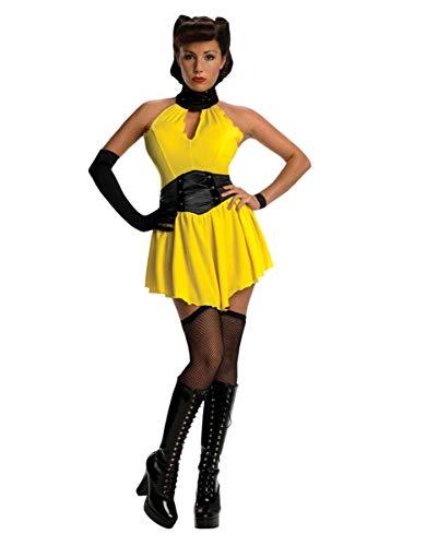 Horror-Shop 5-TLG. Sally Jupiter Watchmen Kostüm für Fasching & Halloween S