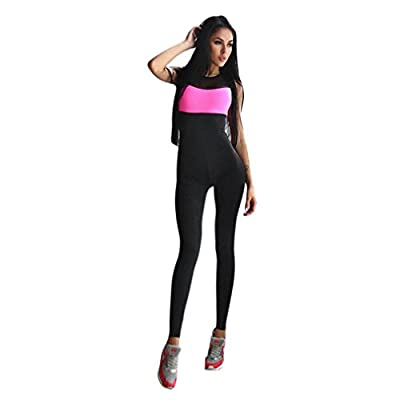 Bekleidung Longra Damen kleidung Sporttraining Gym laufen Yoga Overall Active Wear Fitness Stretchhosen