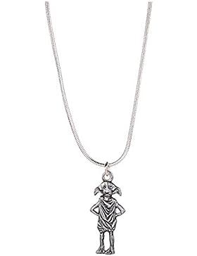 Offizielle Harry Potter Silber überzogene Dobby die Elf Halskette Anhänger