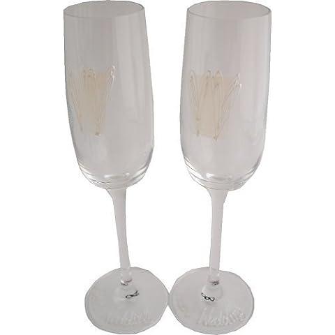 Personalizzato perla 30° anniversario di matrimonio regalo Flute (SQ) massima