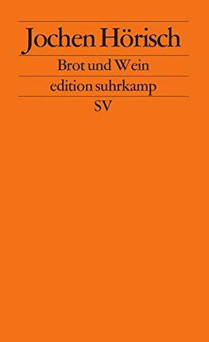 oesie des Abendmahls (edition suhrkamp) ()