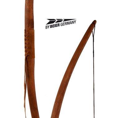 Marksman bow 68 Zoll Farbe dunkel Natur,mit Ledergriff Image