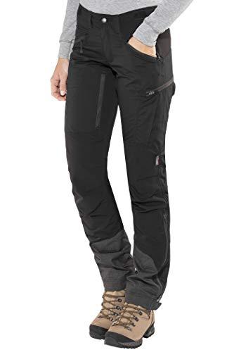 Lundhags Makke Pants Damen Black Größe 42 (Short) 2019 Hose -