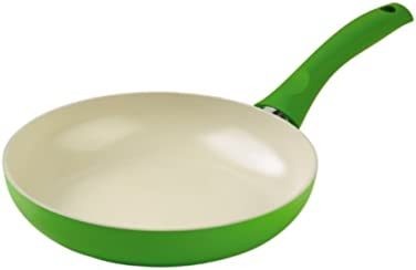 Kuhn Rikon Colori Cucina 24 cm Ceramic Induction Frying Pan, Green