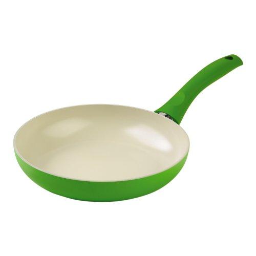 KUHN RIKON 31505 Colori Cucina Ceramic Induction Bratpfanne, 28 cm, grün