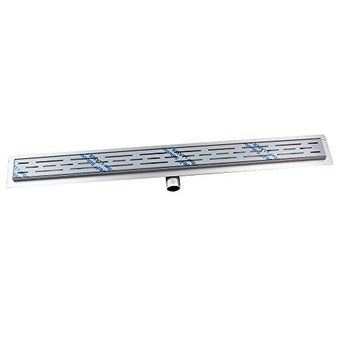 HUX HOME Acero Inoxidable Desagüe de Suelo para Ducha enlosable, 70/80/90/100cm