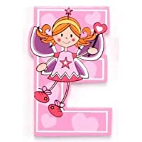 Vinsani® Wooden Fairy Alphabet Letters Personalised Bedroom Wall Door Name