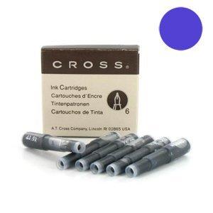 CROSS 8931TD- ÉTUI DE 6 CARTOUCHE POUR STYLO A PLUME