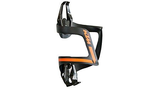KTM Fahrrad Bike Carbon Flaschenhalter - Schwarz Orange - 39g (5-293)