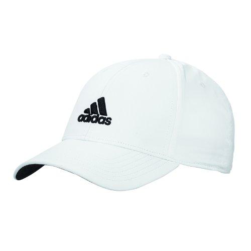 Adidas Golf Herren Performance Max. bequemer Seitensitz verstellbar Mütze - Weiß (Entspannt Golf)