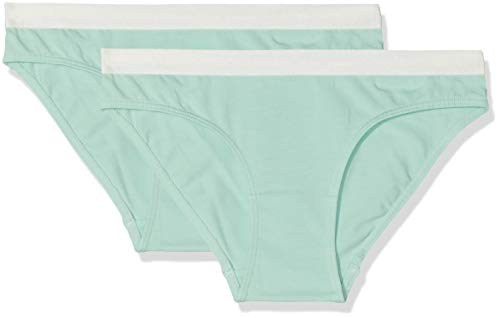 Skiny Mädchen Unterhose Lovely Girls Rio Slip 2er Pack, Grün (Pistachio Green 8420), 140 Preisvergleich