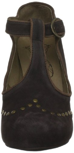 Fly London Ctas Speciality, Scarpe col tacco donna Marrone (Braun (Dk Brown/Brown))