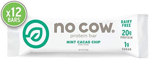 D's Naturals No Cow Bar Mint Chocolate Chip (Vegan), 1er Pack (1 x 720 g) -