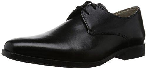 Clarks Amieson Walk, Derby homme Noir (Black Leather)