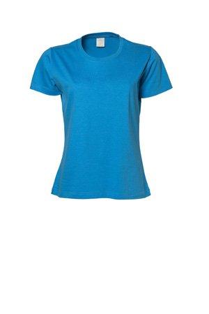 TJ8050-4 Tee Jays 4er-Pack Damen T-Shirt (auch in großen Größen- bis 5XL) Azure