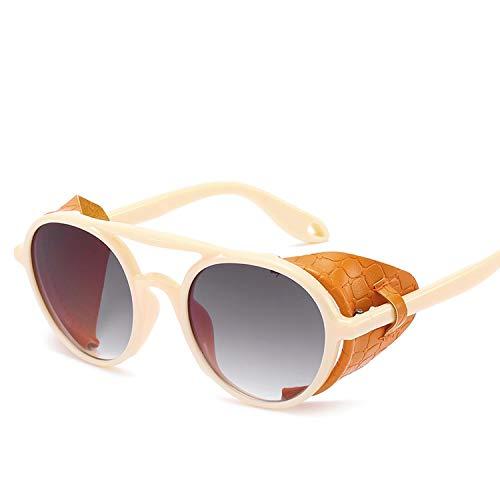 FIRM-CASE Männer Steampunk Schutzbrille-Sonnenbrille-Frauen-Retro- Shades Vintage-Brillen, 6