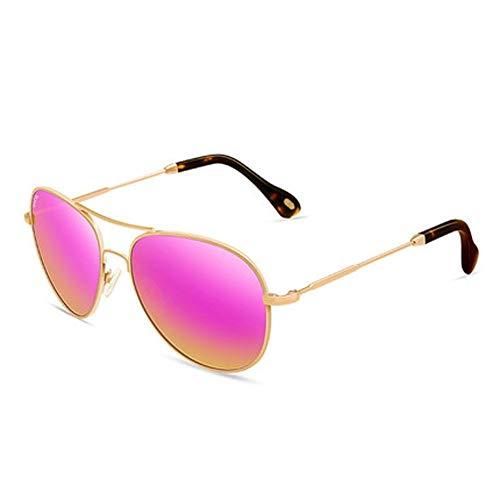 Wghz Outdoor Frauen Sonnenbrillen Retro weibliche Modelle rundes Gesicht Sonnenbrille hell Froschauge Sonnenbrille