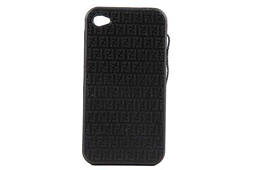 fendi-cover-case-decken-iphone-4-4s-weichem-gummi-schwarz