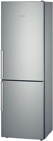 Bosch KGE36AL42 Serie 6 Kühl-Gefrier-Kombination / A+++ / 186 cm Höhe / 149 kWh/Jahr / 214 L Kühlteil / 88 L Gefrierteil / Inox-look / kühlt besonders sparsam
