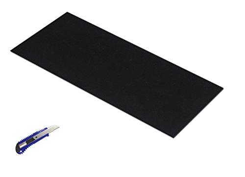 Gummi Tabelle Rolle Black, Heavy Duty, 39,4PT x19.7PT x0.059PT, Dichtringe DIY Material, unterstützt, Nivellierung,-, Stoßstangen, Schutz, Abrieb, Bodenbelag