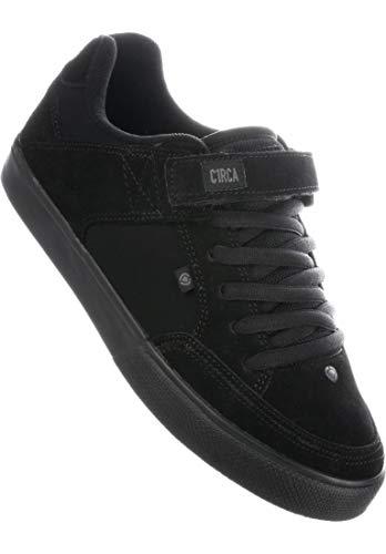 c036112838 C1RCA 205 Vulc Black Black Scarpa da Skate Unisex da Ollie Trick Shop (38
